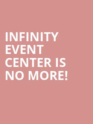 Infinity Event Center is no more